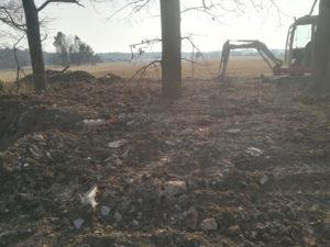 Úprava terénu Jílovice